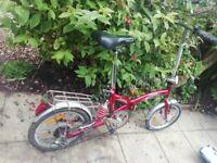 Foldable adults bike