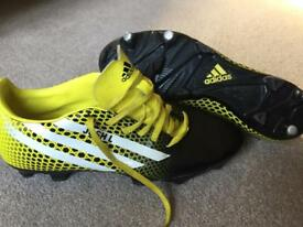 Adidas Rugby boots size 8 rrp £80