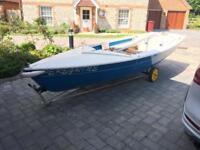 14ft Wanderer Sailing Boat Dinghy