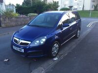 7 seats Vauxhall Zafira facelift model 10 months MOT , good condition drives well ,px welcome