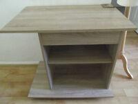 Computer table - as new light beech colour from wayfair