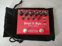 Truetone - Jekyll & Hyde V3 Overdrive Distortion guitar effects pedal