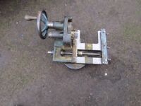 WADKIN RS WOOD TURNING LATHE SPARE PARTS CARRIAGE ONLY LEICESTER LOCATION
