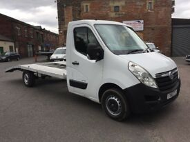 Vauxhall movano master recovery truck van 2011 model 2.3 diesel 6 speed well serviced drives good