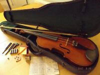 Old Violin With History