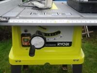 Ryobi electric saw woodworking station