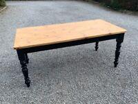 Fantastic Pine Farmhouse Kitchen/Refectory table