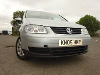 05 VOLKSWAGEN TOURAN SE TDI 1.9 DIESEL,SEVEN SEATER,MOT JULY 019,2 OWNERS,2 KEYS,LOVELY EXAMPLE