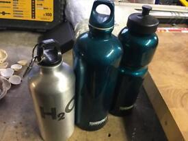 Three Water Bottles sigg Switzerland 🇨🇭