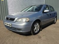 2001 VAUXHALL ASTRA 1.8 AUTOMATIC 5dr **LONG MOT**