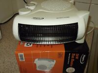 1 HAYES UK 2kW Fan Heater