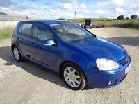 2004 VOLKSWAGEN GOLF GT TDI PD DSG AUTOMATIC 140 BHP 5 DOOR HATCHBACK BLUE 10 MONTHS M.O.T