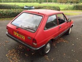1985 Mk2 Ford Fiesta