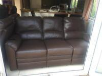 2 pcs and 3 pcs reclining sofa