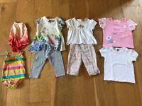 Summer little girls clothes. 6-12 months.