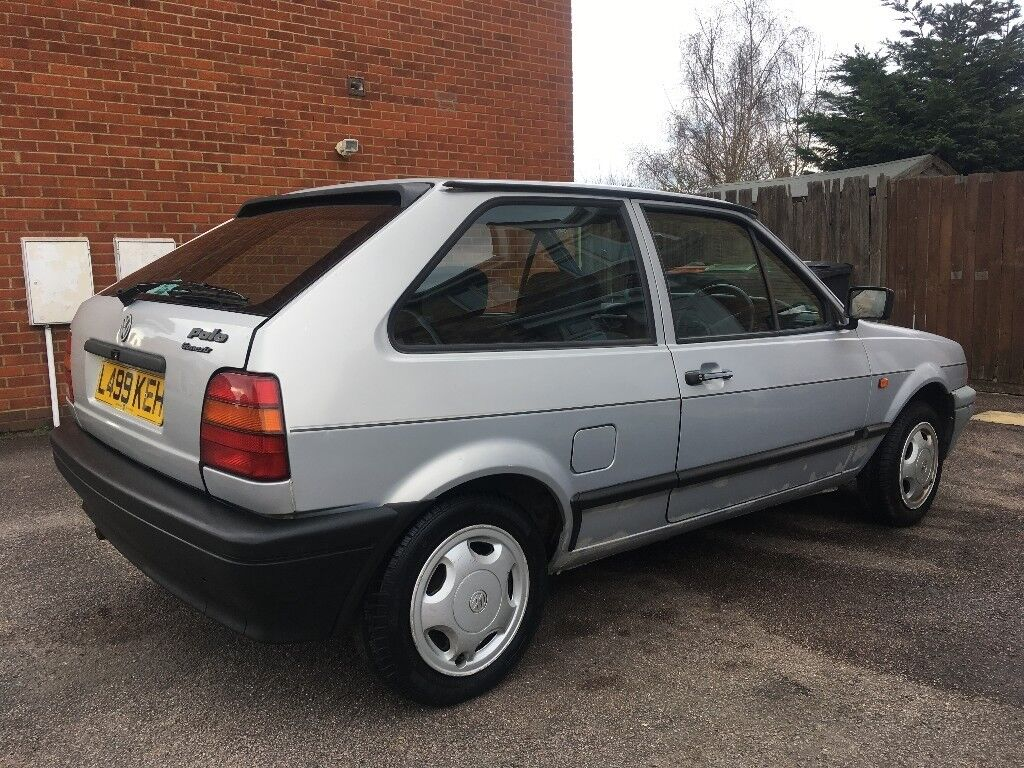 1993 vw polo coupe 1 0 4 speed silver mot 86c mk2f not. Black Bedroom Furniture Sets. Home Design Ideas