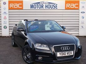 Audi A3 TDI S LINE (£30.00 ROAD TAX) FREE MOT'S AS LONG AS YOU OWN THE CAR!! (black) 2010