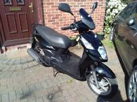 2015 SYM Symply 125 scooter, runs very well, good condition, cheap insurance, low miles, bargain,,,