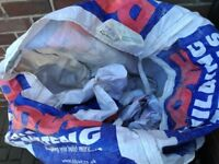 1 TON DUMPY BAGS. FREE TO COLLECTOR