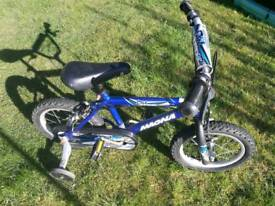 Bike with stabilizers