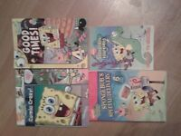 Spongebob Squarepants books x 4