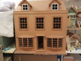 DOLLS HOUSE --- 3 STORIES ----DOUBLE FRONTED