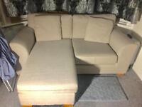 IKEA Two seated corner sofa/perfect condition