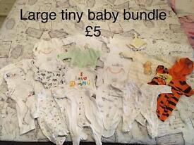 Tiny baby neutral bundle
