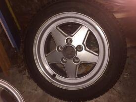 """Mercedes Alloy wheel 15"""""""