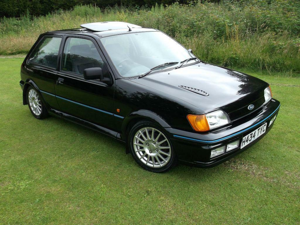 l k classic ford fiesta xr2i mk3 black low miles good condition mot ready to go see video in. Black Bedroom Furniture Sets. Home Design Ideas