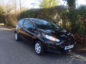 2014 FORD FIESTA STUDIO BLACK CAT D ONLY DONE 7,000 MILES EXCELLENT CONDITION FULL SERVICE HISTORY