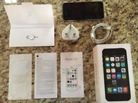 Apple iPhone 5s Space Gray Unlocked Fully Boxed Fabulous Condition! Xmas Present!