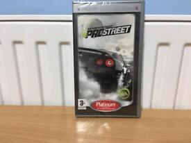 NEED FOR SPEED PROSTREET PLATINUM PSP NEW AND SEALED