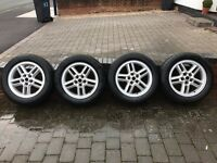 "Land Rover 18"" Hurrican Alloy wheels x 4 - Very good condition"