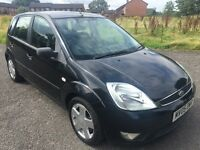 2005 FORD FIESTA 1.4 FLAME LIMITED EDITION, 5 DOORS HATCHBACK, PETROL, MANUAL, LONG MOT, NEW CLUTCH