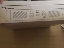 Q1000 stereo power amplifier