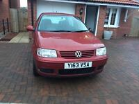 VW POLO MATCH ONLY 46000 MILES