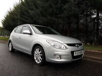 AUGUST 2009 HYUNDAI I30 STYLE 1.6 CRDI TURBO DIESEL EXCELLENT CONDITION LOOKS AND DRIVES FIRST CLASS