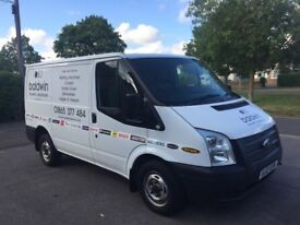 2013 Ford Transit T260 SWB in White in excellent condition ** NO VAT **