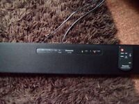 Panasonic SC-HTB8 sound bar with remote control excellent condition