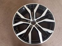 "Volkswagen 19"" Santiago Genuine Alloy wheel - Mk7 Golf"