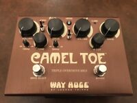 Way Huge Camel Toe Triple Overdrive Mk II Guitar Pedal AS NEW MINT CONDITION