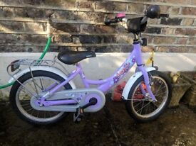 Girls Bicycle - Kids PUKY ZL 12-1 - Purple