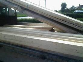 Timber framing, 44mm x 30mm finished size, straight and regularised