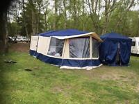 Conway 6 berth trailer tent.