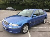 Masterpiece Rover 45 right here, special oddity in a world of bland for £395 MOT MAY 18, p/ex cards