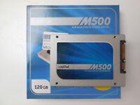 120GB SSD (128GB SSD) internal SATA III - Crucial M500