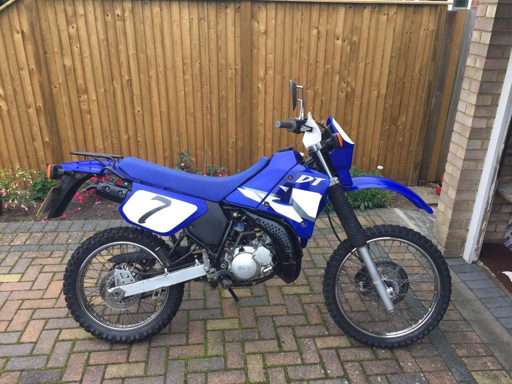 yamaha dt 125 r dirt bike crosser in folkestone kent. Black Bedroom Furniture Sets. Home Design Ideas
