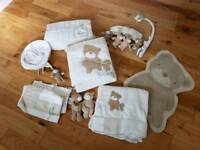 Babies R Us Bruin 'Loved and Adored' nursery bundle