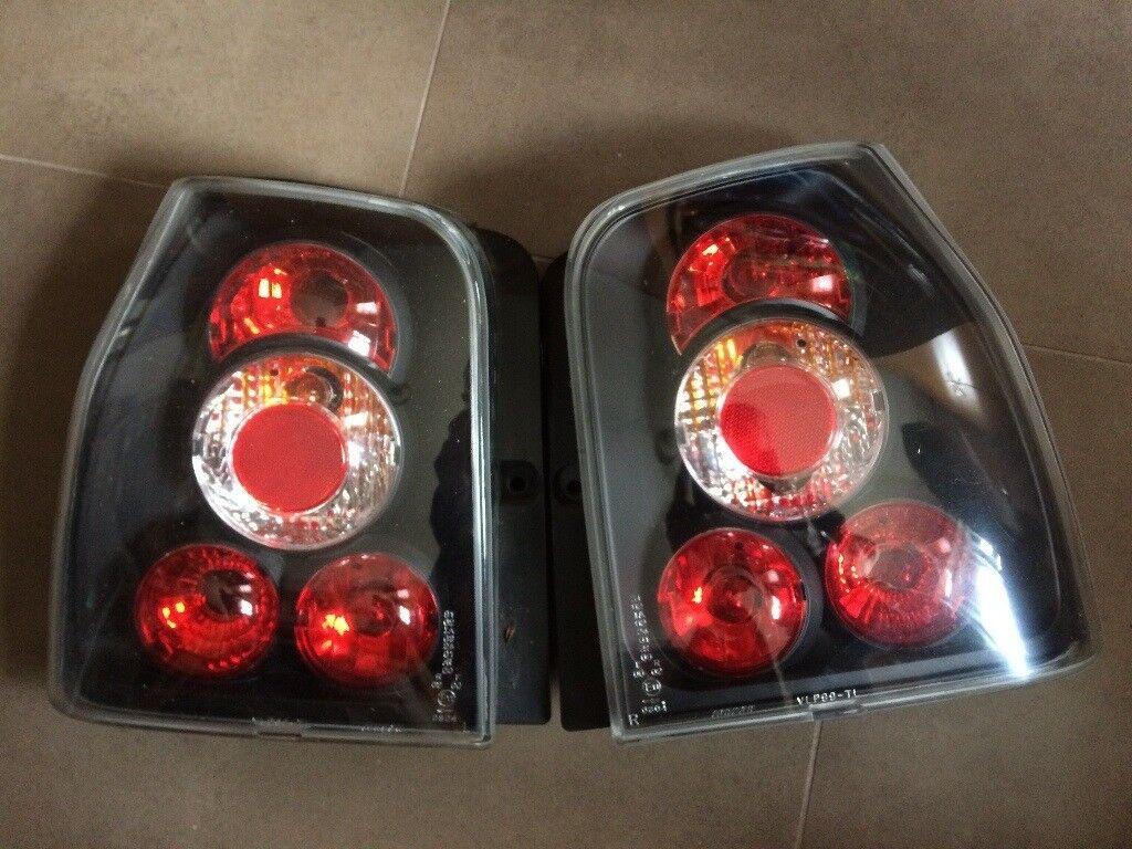 VW Lupo Black Rear Lights